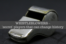 Debate: Whistleblowers – 'secret' players that can change history
